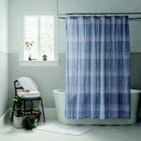 Ugg® Aira 54-Inch x 78-Inch Shower Curtain in Navy