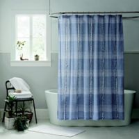 UGG® Aira 72-Inch Square Shower Curtain in Navy