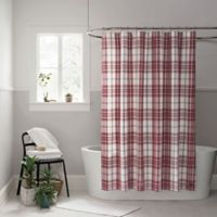 UGG® Bristol 54-Inch x 78-Inch Shower Curtain in Redwood