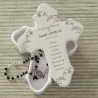 In Loving Memory Cross Jewelry Box