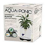 Penn Plax Aquaponic Planter and Fish Habitat