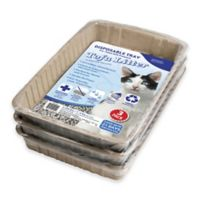 CatLife 3-Pack Pre-Filled Disposable Tofu Litter Trays