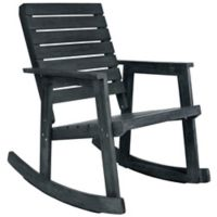 Safavieh Alexei Rocking Chair in Slate Grey