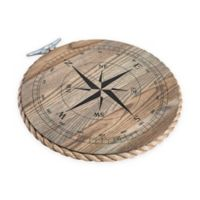 J. K. Adams Co. 14-Inch Round Serving Tray with Compass in Ash