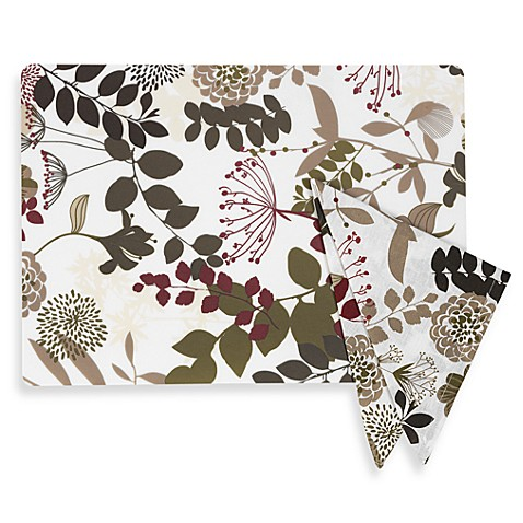 Willow Placemat And Napkins Bed Bath Amp Beyond
