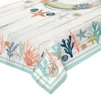 Laural Home Coastal Reef 60-Inch x 84-Inch Oblong Tablecloth