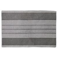 Willow Stripe Placemat in Charcoal