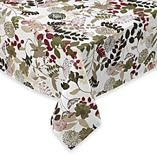 Willow 60 Inch X 120 Inch Laminated Tablecloth