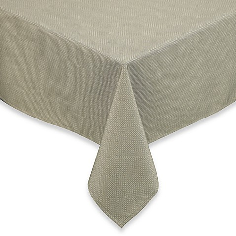 Dashweave 70-Inch Round Umbrella Tablecloth in Sage