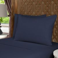 Morgan Home Flannel King Sheet Set in Blue
