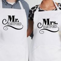 Happy Couple Apron