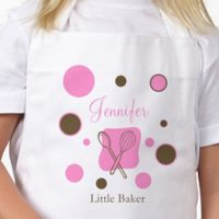 Lil' Baker Polka Dot Youth Apron