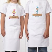Junior Chef Youth Character Apron