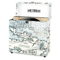 Victrola™ Vinyl Turntable Record Storage Case in Map