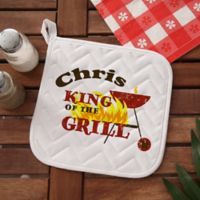 King Of The Grill Potholder