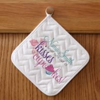 Kisses & Cupcakes Potholder