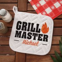 Master of the Grill Potholder