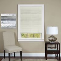 Deluxe Sundown 30-Inch x 64-Inch Cordless Mini Blind in Alabaster