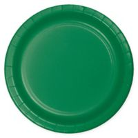 75-Count 9-Inch Paper Plates in Green