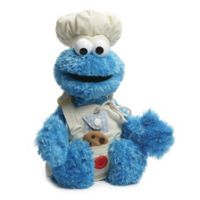 GUND® Sesame Street® Cookie Monster Teach Me Plush Toy in Blue
