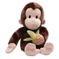 GUND® Curious George with Banana Plush Toy