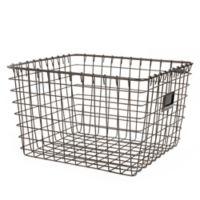 Spectrum® Medium Storage Basket in Grey