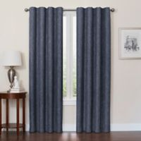 Quinn 84-Inch 100% Blackout Insulated Rod Pocket/Back Tab Window Curtain Panel in Navy