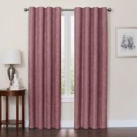 Quinn 63-Inch 100% Blackout Insulated Rod Pocket/Back Tab Window Curtain Panel in Eggplant