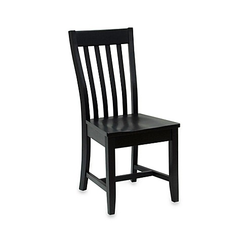 Carolina Chair & Table Company Antique Prairie Chair in Black
