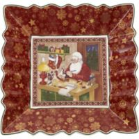 Villeroy & Boch Toy's Fantasy Santa's Workshop Square Bowl