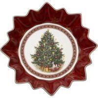 Villeroy & Boch Toy's Fantasy Christmas Tree 9.75-Inch Bowl