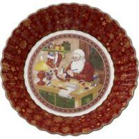 Villeroy & Boch Toy's Fantasy Santa's Workshop 9.75-Inch Bowl