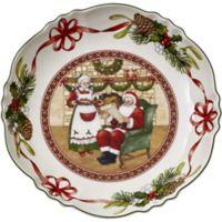 Villeroy & Boch Toy's Fantasy Santa's Home 9.75-Inch Bowl