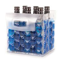 True The Bottle Bubble® 6-Pack Beer Carrier in Red/Blue