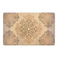 "Chef Gear Elroya 20"" x 32"" Gelness Anti-Fatigue Kitchen Mat in Beige"