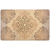 "Chef Gear Elroya 20"" x 39"" Gelness Anti-Fatigue Kitchen Mat in Beige"