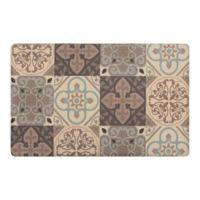 """Kitchen Tile Gelness 20"""" x 32"""" Kitchen Mat in Grey"""