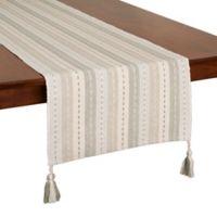 Shimmer Stripe 90-Inch Table Runner