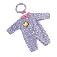 Adora® GiggleTime Floral Lion Baby Outfit for 15-Inch Doll