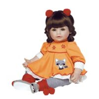 Adora® ToddlerTime Macaraccoon Doll with Brown Hair
