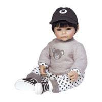 Adora® ToddlerTime Bubba Bear Boy Doll with Black Hair