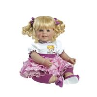 Adora® ToddlerTime Little Lovey Baby Girl Doll with Blonde Hair