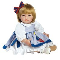 Adora® ToddlerTime Pin-A-Four Season Baby Girl Doll with Blonde Hair