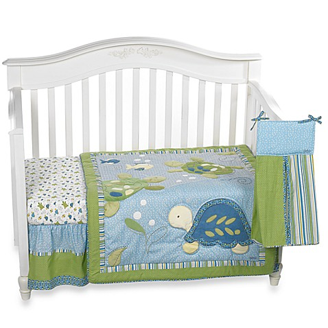 Cocalo Baby 174 Turtle Reef 8 Piece Crib Bedding And