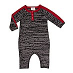 Cuddl Duds® Size 3M Coverall in Grey/Red