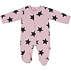 E=MC²™ Newborn Stars Magnetic Footie in Pink