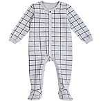 Petit Lem™ Newborn Windowpane Sleeper in Grey