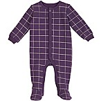 Petit Lem™ Size 6M Windowpane Footie in Purple
