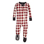 Burt's Bees Baby® Size 12M Buffalo Check Sleeper in Red/Ivory