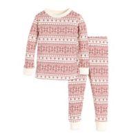 Burt s Bees Baby® Size 12M 2-Piece Fair Isle Organic Cotton Pajama Set in 95d750f42
